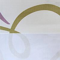 Рулонные шторы День ночь ткань Гренадин Оливка-оранж-лиловый