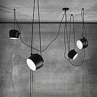 Светильник подвесной Loft [ Pendant Aim Black & White ]