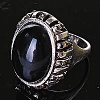 [17,18,19,20] Кольцо массивное овал Агат