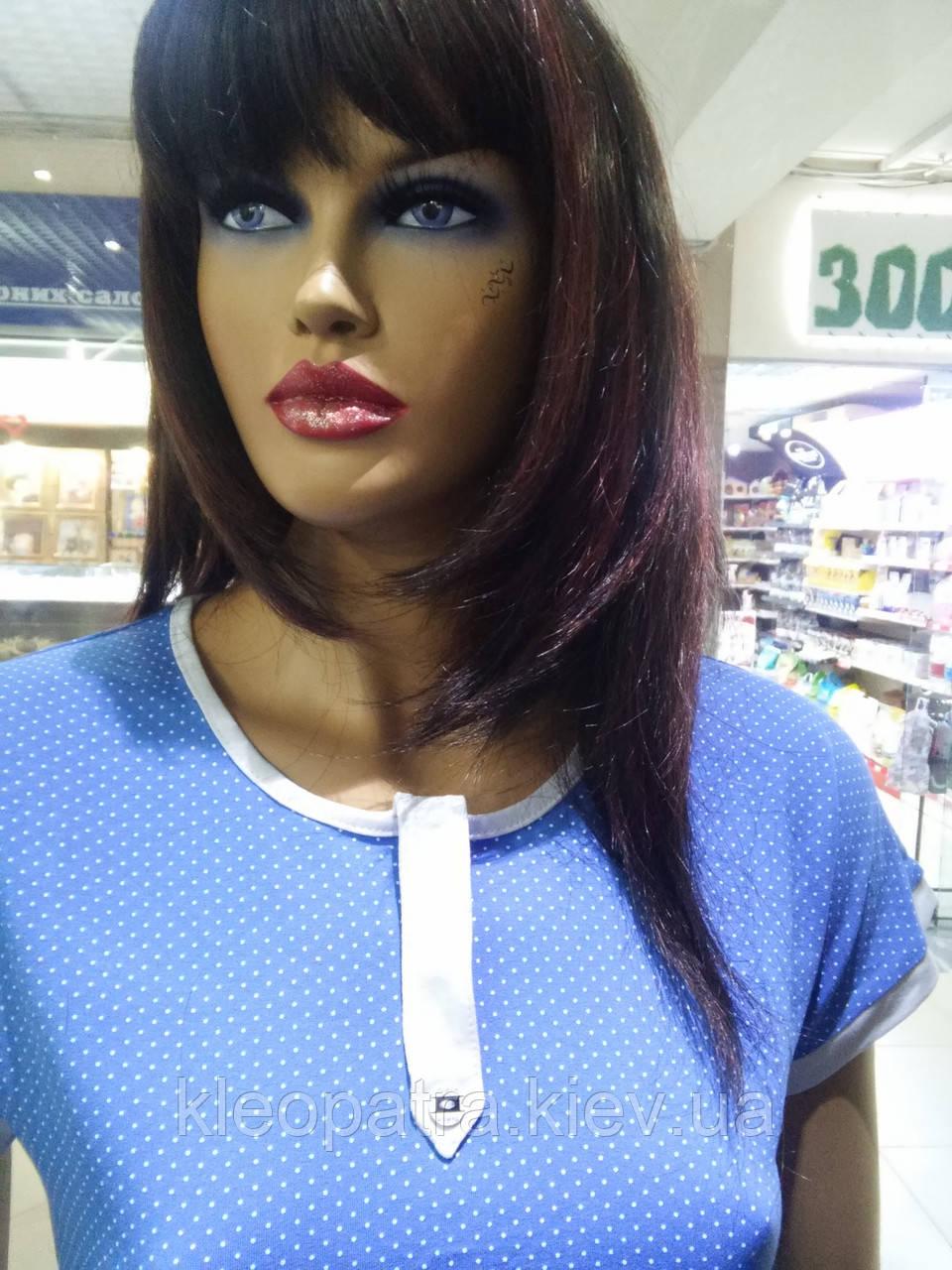 Красивая женская блуза в горошек