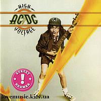 Музыкальный сд диск AC/DC High voltage (1976) (audio cd)