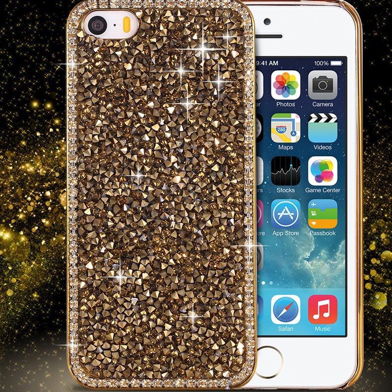 Чехлы Luxury для iPhone 5 5S SE 1000 Diamonds