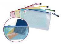 Папка на замке, прозрачная, А4, Sk-0620, цвет ассорти
