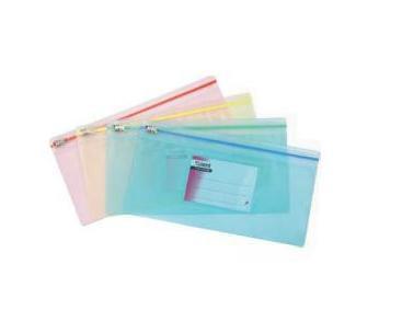 Папка-конверт Zip-lock, DL, ассорти