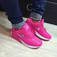 Кроссовки женские Nike air max розовые , фото 1