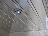 Реечные алюминиевые зеркальные потолки
