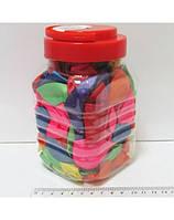 Шарики перламутровые 25 см. №167-15В (В банке 100 шт., 14 цв.)