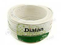 Сигнальный кабель Dialan ( медь) CU 6x7/0.22 экранированный бухта 100м