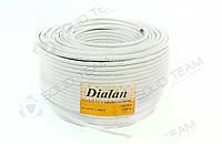 Сигнальный кабель Dialan CCA 12x7/0.22 экранированный бухта 100м