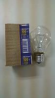 Лампа накаливания Искра груша 100Вт, E27, прозрачная (гофра)
