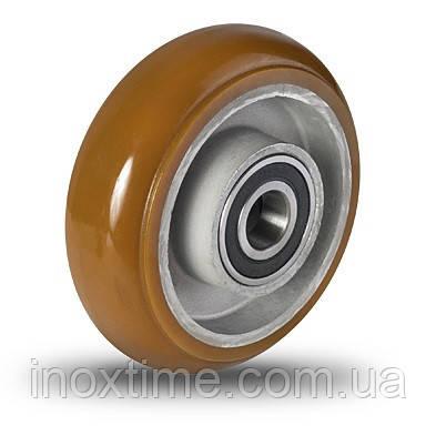Колеса для малой нагрузки , алюминий-полиуретановые AU Ergoform