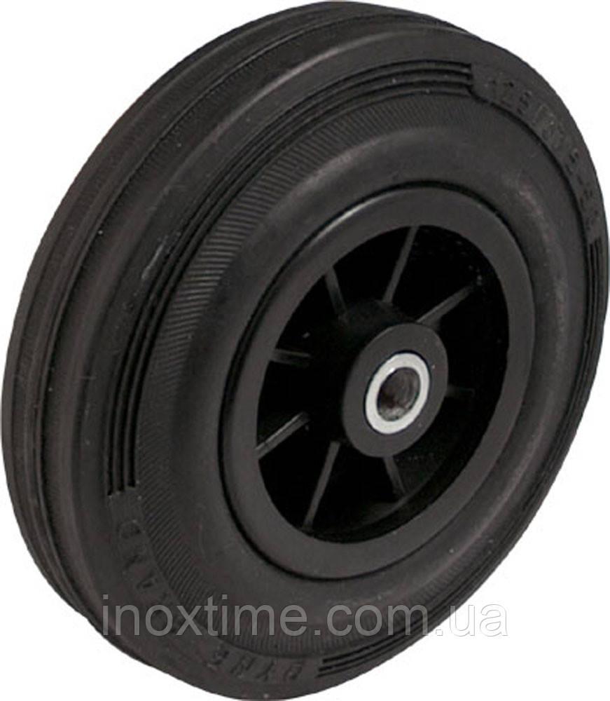 Пластиковые колеса с черным резиновым протектором PM-серии