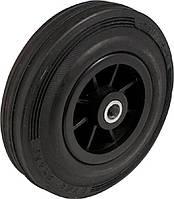 Пластикові колеса з чорним гумовим протектором PM-серії