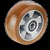 Колеса алюминиевое с полиуретановым протектором средней AU-серии