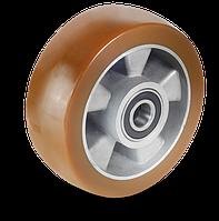 Колеса алюмінієве з поліуретановим протектором середньої AU-серії