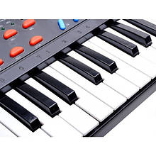 Многофункциональное пианино-синтезатор с микрофоном арт. 3738