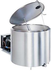 Охолоджувач молока відкритого типу DeLaval 800 л з компресорним агрегатом