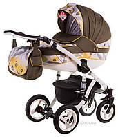 Универсальная коляска Adamex Aspena 90G коричневый
