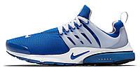Мужские кроссовки Nike Air Presto (Найк Аир Престо) синие