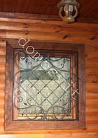 Окна из евробруса в сруб