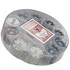 Игра покерный набор 100 фишек и карты, в пластиковой упаковке. PN62009, фото 3