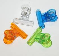 Прищепка пластиковая для зажима ногтей
