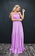 Шелковое платье в расцветках 11237, фото 1
