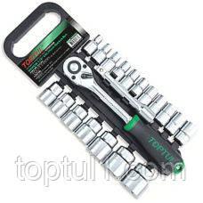 """Набор инструмента TOPTUL GABB2001  20 ед. 1/2"""" 8-32мм на пластиковом холдере"""