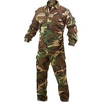 Комплект вооруженных сил Италии в камуфляжной расцветке Woodland (лес), новый