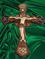 Крест с распятием ручной работы