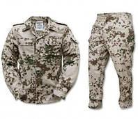Камуфляжний костюм Тропентарн (кітель,брюки) армії Німеччини(бундесвер), УЦІНКА, фото 1