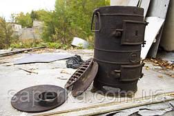 Печка, буржуйка чугунная для дачи СССР, фото 2
