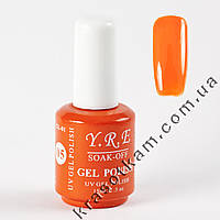 Гель-лак YRE GL-01 №05 оранжевый