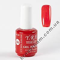 Гель-лак Гель-лак YRE GL-01 №06  красный