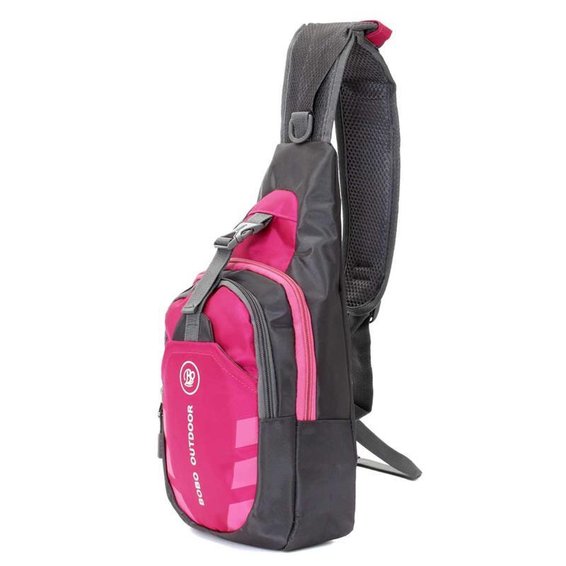 Cумка рюкзак BOBO OUTDOOR pink