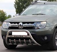 Кенгурятник WT на Renault Duster (c 2010--) Рено Дастер PRS 1.6 мм, 60 мм