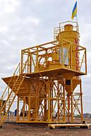 Бетоносмесительная установка производительностью 20 м.куб/ч (БСУ-20)