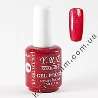 Гель-лак YRE GL-01 №90 красный с перламутром