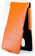 Чехол Status Side Flip Series Doogee HomTom HT3, HT3 Pro Orange