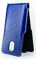 Чехол Status Side Flip Series Doogee HomTom HT3, HT3 Pro Dark Blue