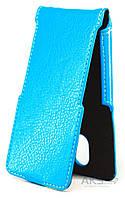 Чехол Status Side Flip Series Doogee HomTom HT3, HT3 Pro Light Blue