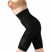 Корректирующие шорты с высокой эластичностью, чёрные
