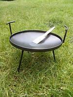 Сковорода из диска бороны для пикника