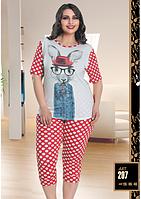 Домашняя одежда Lady Lingerie Комплект 207 (размеры в ассортименте 2XL; 3XL; 4XL)