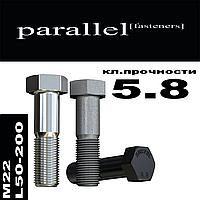 Болт с неполной резьбой М22 * L50-200, без покрытия