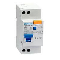 Автоматический выключатель дифференциального тока NBH8LE-40 (1P+N, 1 А)