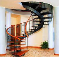 Изготовление винтовых лестниц