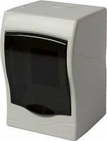 Корпус пластиковый, навесной, 2-модульный, с дверкой, IP30