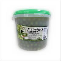 Оливки зелені Vittoria Dolci Sicillia 1кг (21932)