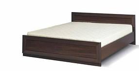 Кровать 2-сп Клео венге темный (Світ Меблів TM)